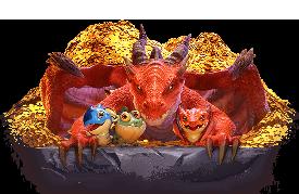 Dragon Hatch เกมสล็อตออนไลน์การตามล่าไข่มังกร